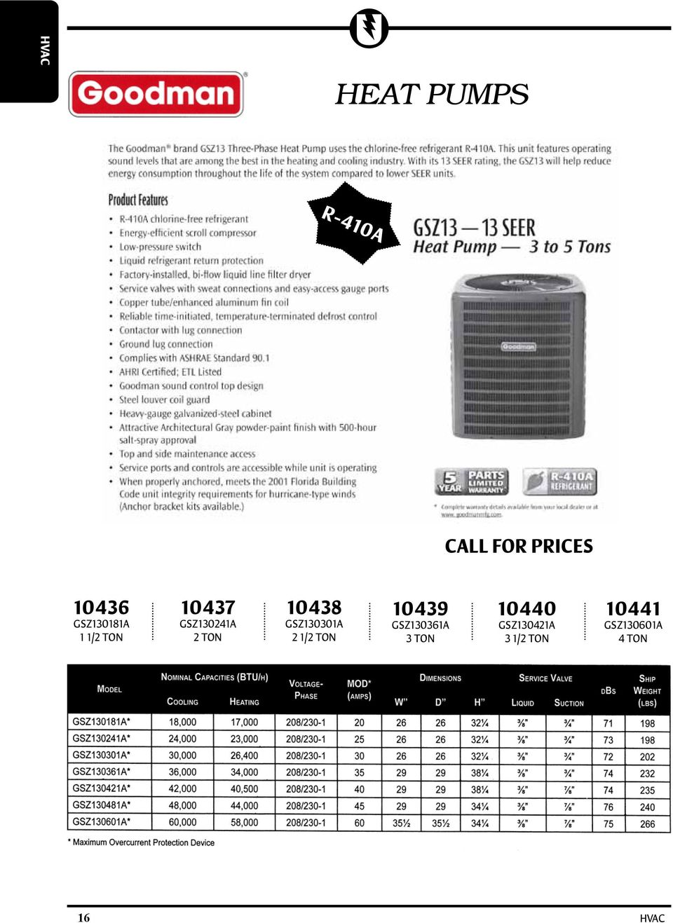 HVAC TABLE OF CONTENTS - PDF Free Download on