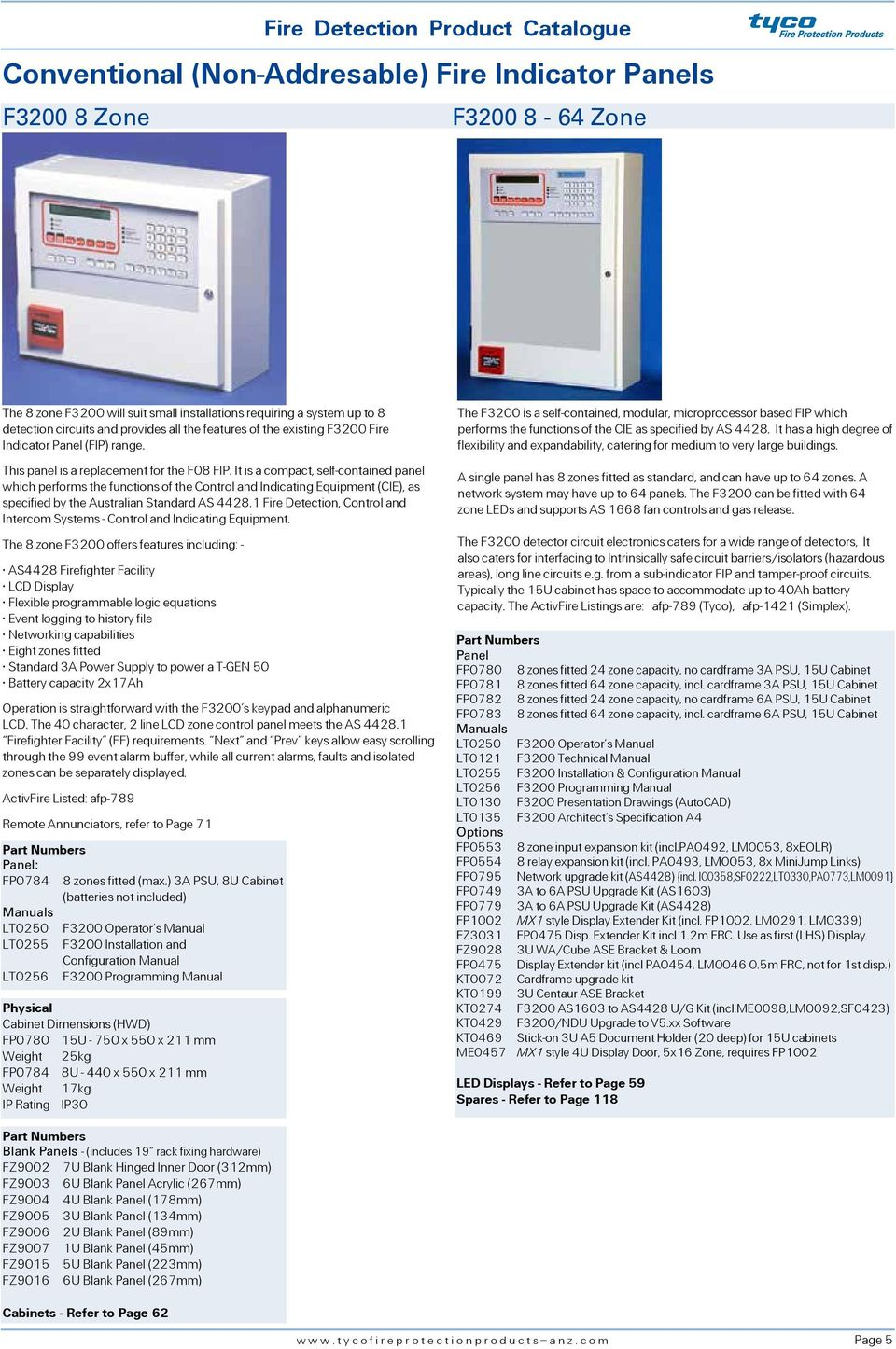Fire Detection Product Catalogue Australia Issue 4 Pdf System Ebl128 Panasonic Electric Works Europe Ag It Is A Compact Self Contained Panel Which Performs The Functions Of Control