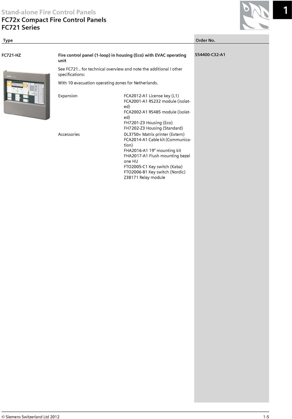 System Ebl128 Panasonic Electric Works Europe Ag Cerberus Pro Product Catalog Pdf S54400 C32 A1 Expansion Fca2012 License Key L1 Fca2001