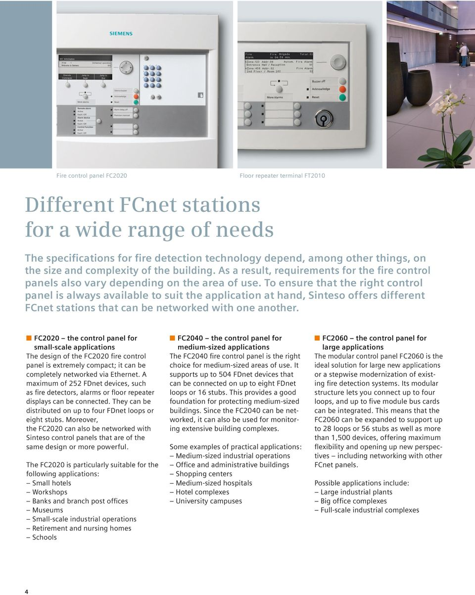 Answers For Infrastructure Sinteso Control Panels Clear Concept Electrical Panel Design Basics O Oem To Ensure That The Right Is Always Available Suit Application At Hand