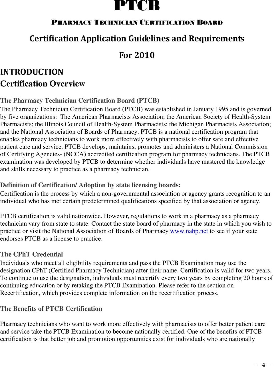 Ptcb Pharmacy Technician Certification Board Board Of Governors