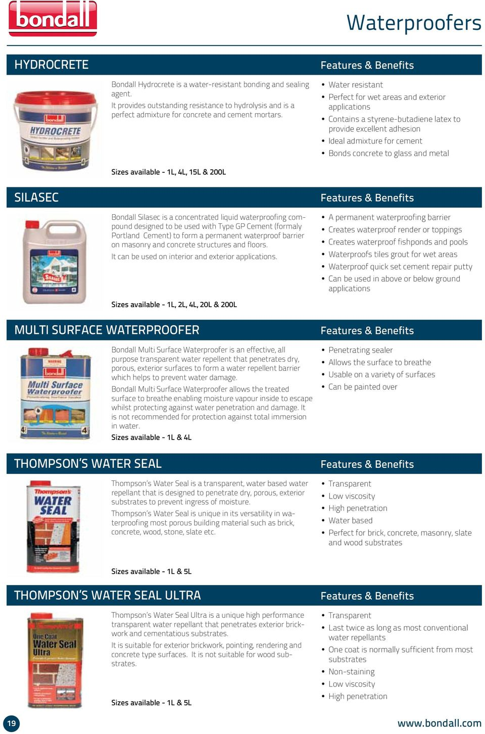 Product Guide  Focus on what you enjoy doing while we ensure your