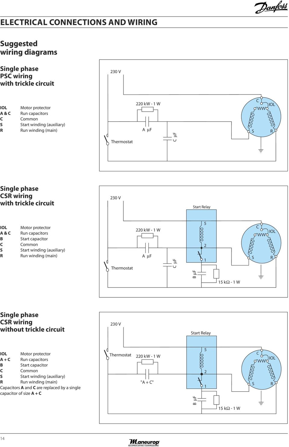 Rotor And Stator Single Phase Motor Wiring Diagrams Diagram Reciprocating Compressors Mt Mtz Hz Pdf Compressor