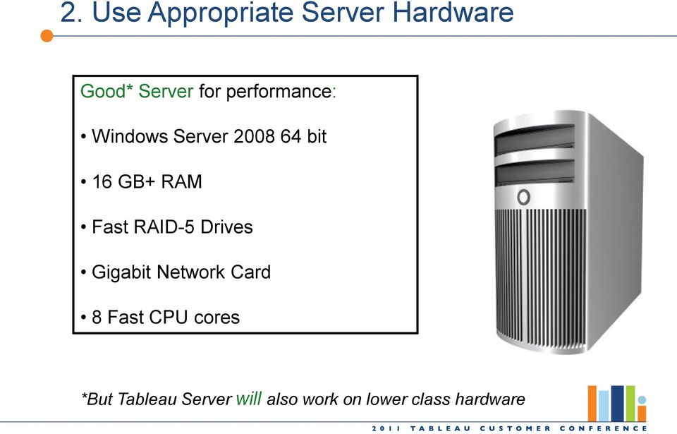 Tuning Tableau Server for High Performance - PDF