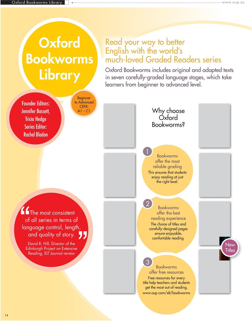 Oxford graded readers for teenagers and adults pdf stages which take learners rom beginner to advanced level founder editors jennier bassett 17 2 oxord bookworms library fandeluxe Gallery