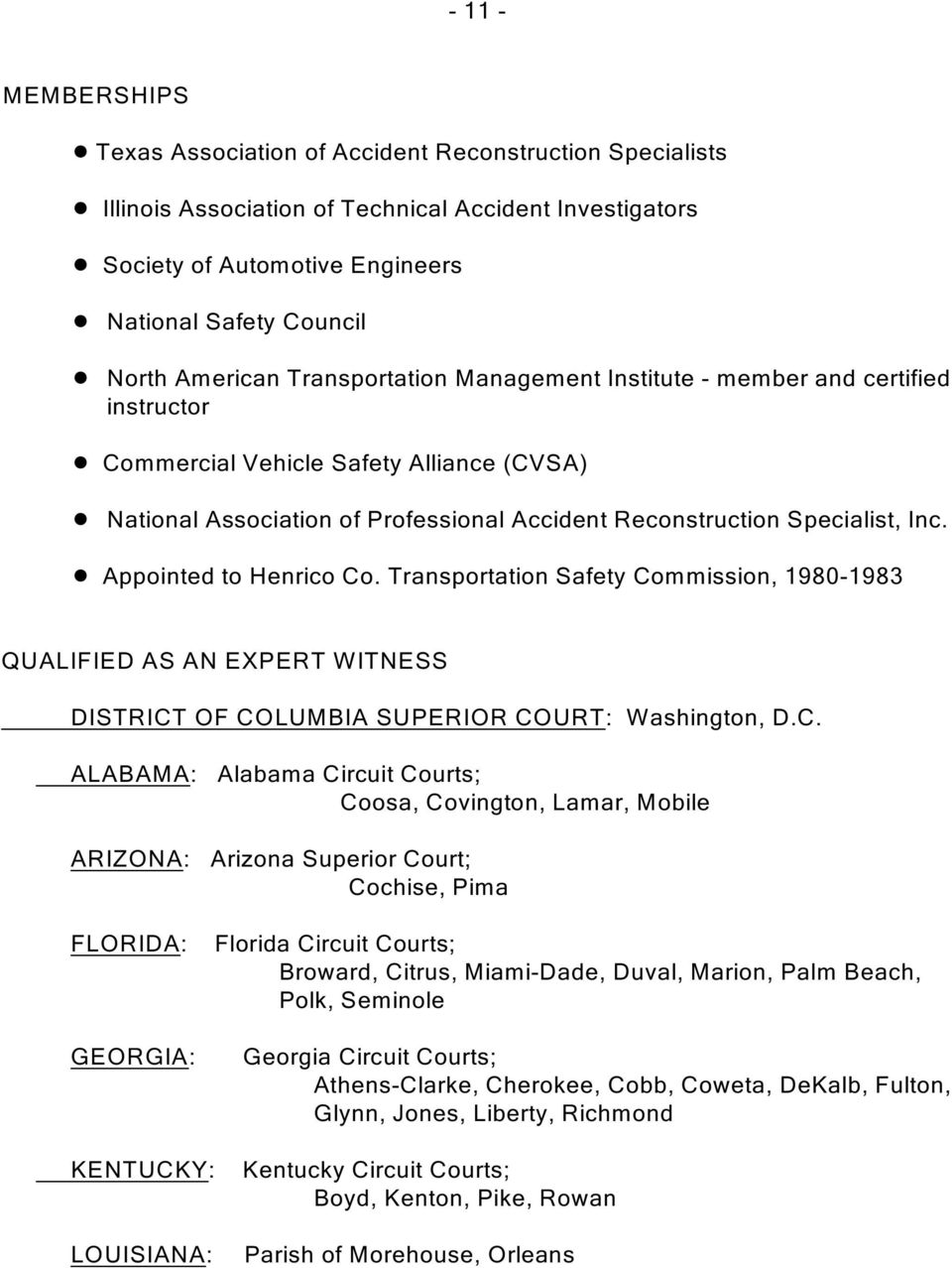 National Association of Professional Accident Reconstruction Specialist, Inc.! Appointed to Henrico Co.