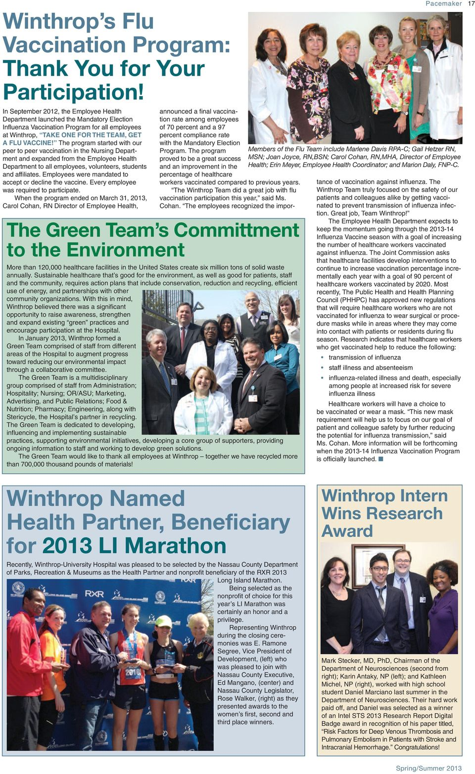 Shining Stars! Winthrop Employees Are - PDF
