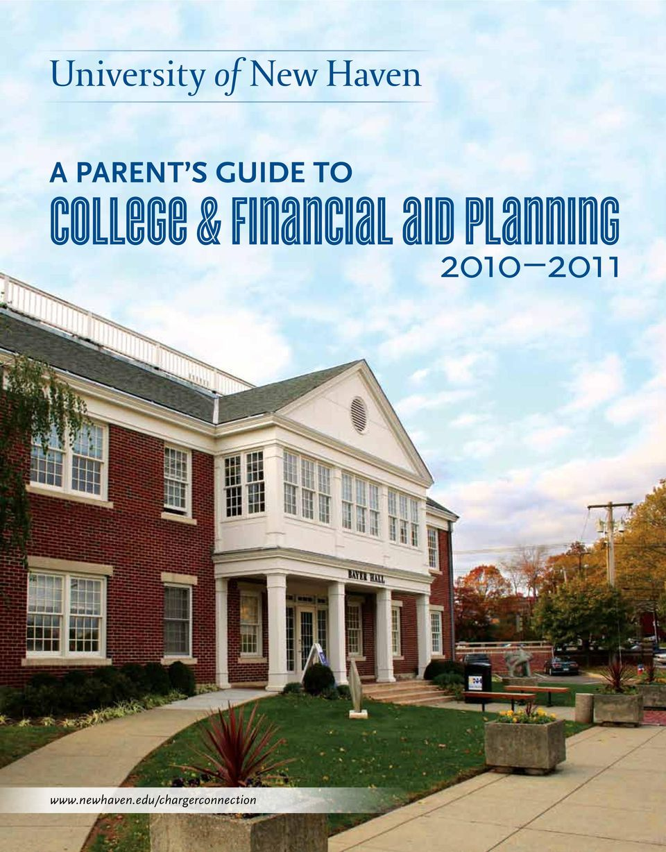 Financial aid planning 2010