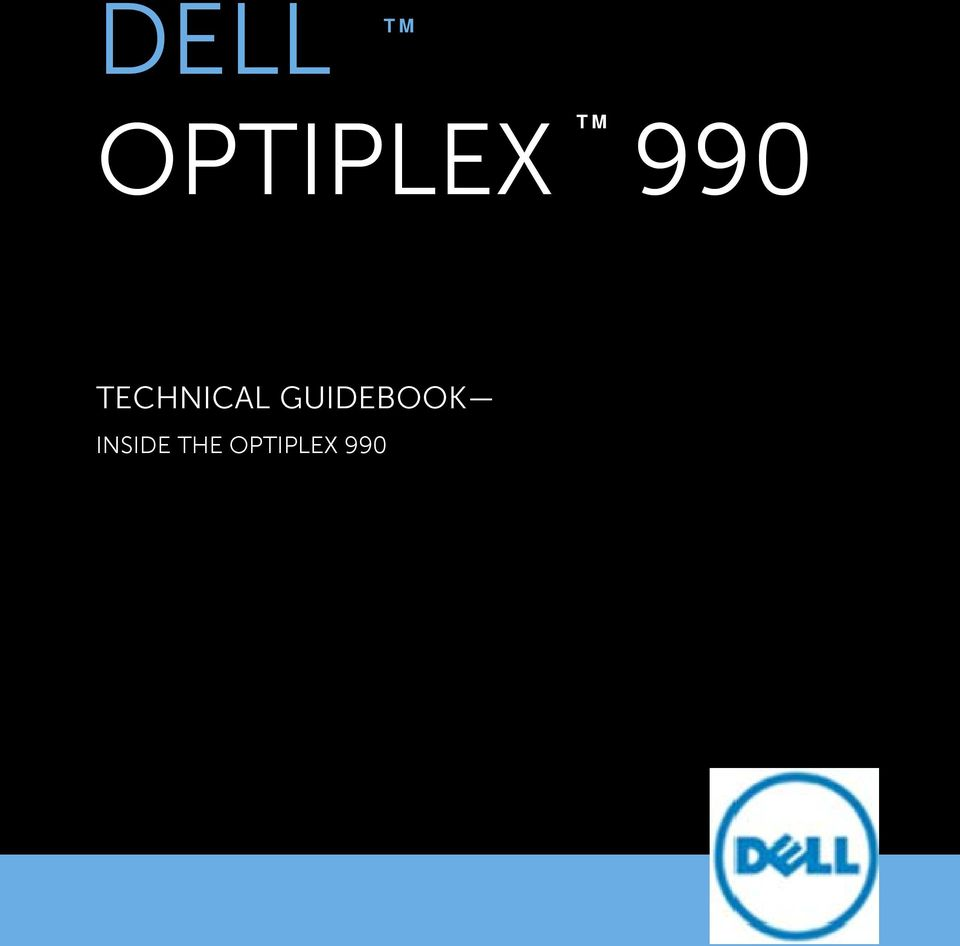 DELL TECHNICAL GUIDEBOOK INSIDE THE OPTIPLEX PDF