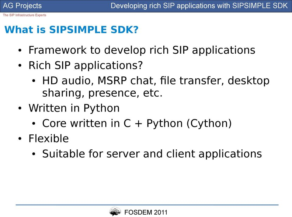 Developing rich VoIP SIP applications with SIPSIMPLE SDK - PDF
