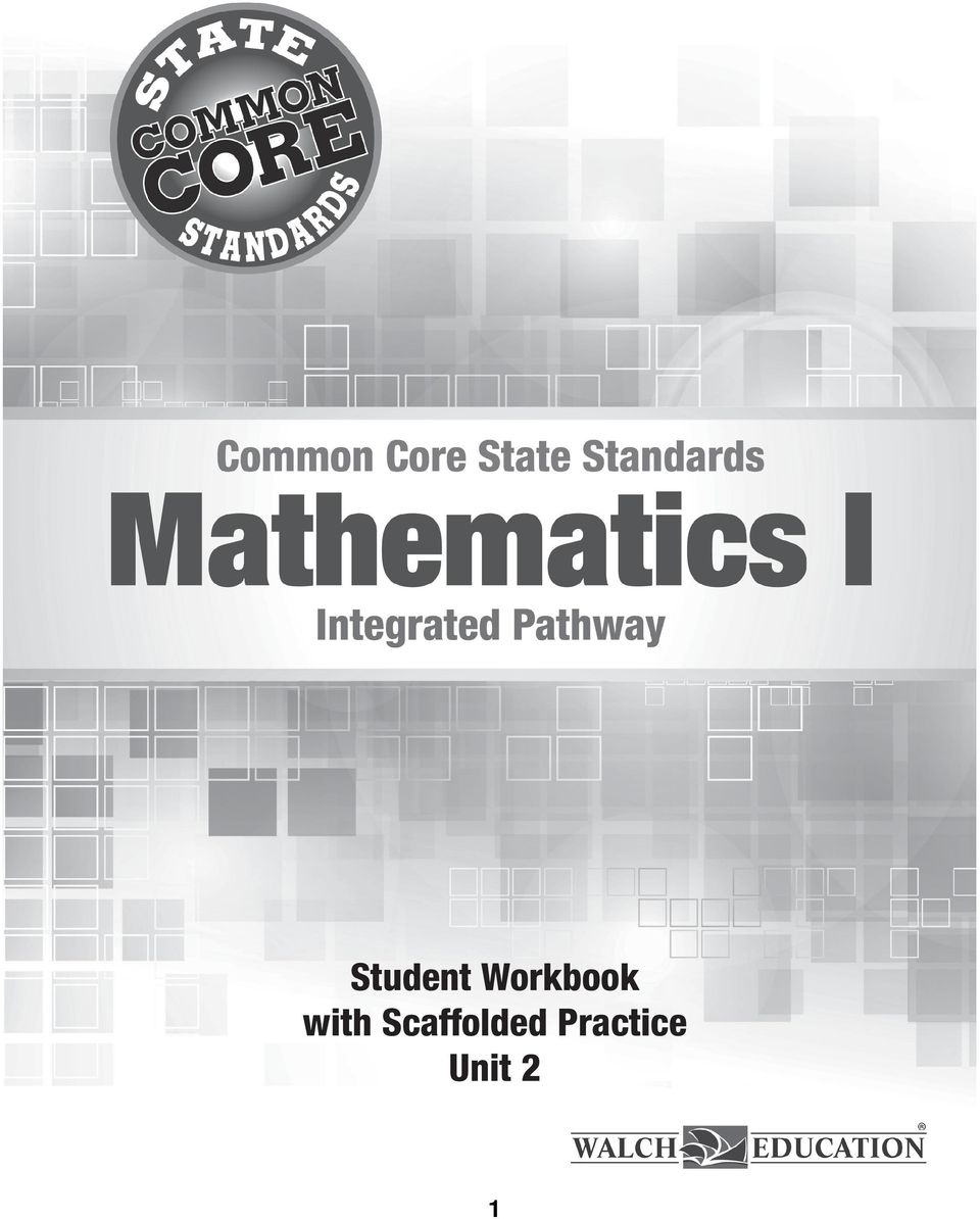 Student Workbook with Scaffolded Practice Unit 2 - PDF