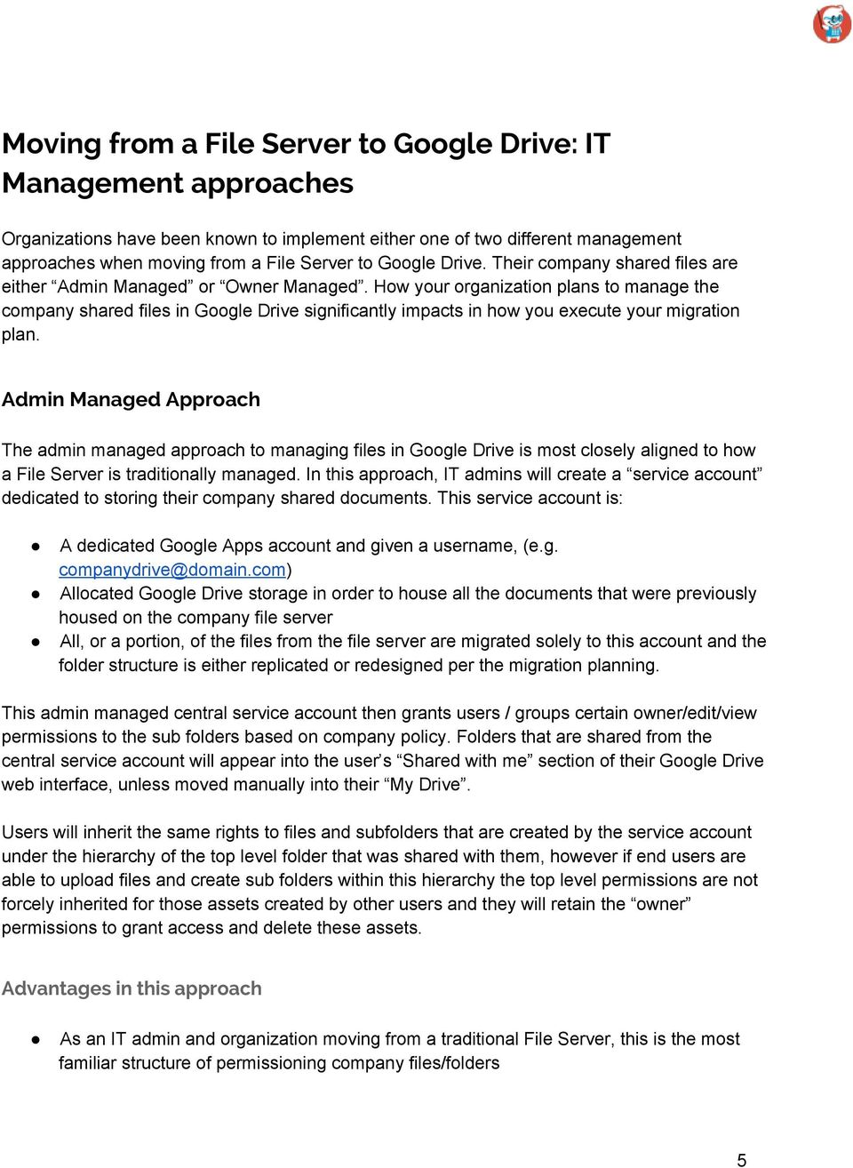Comprehensive Guide to Moving a File Server to Google Drive