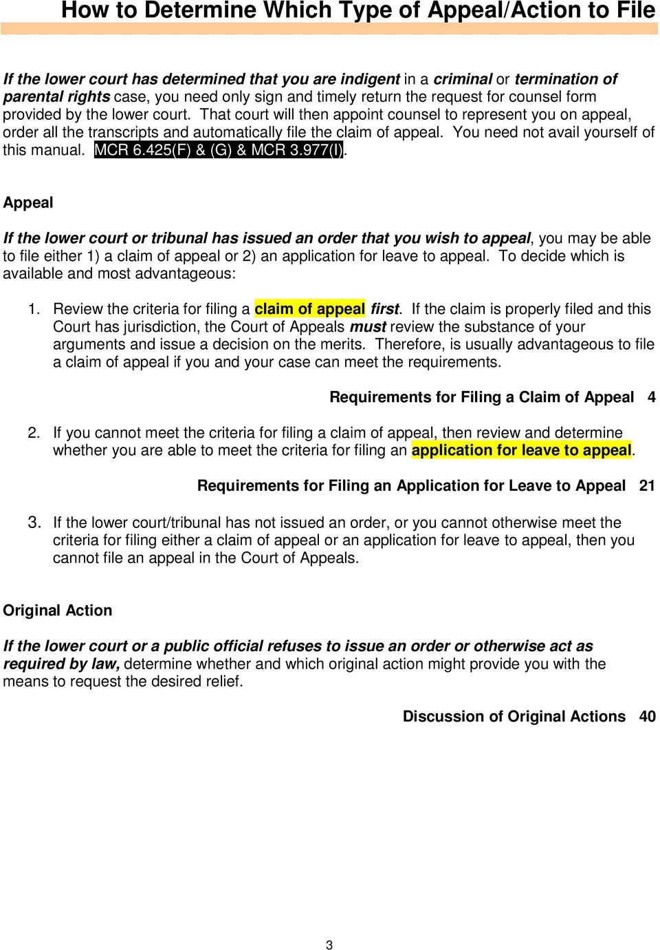 Michigan Court of Appeals - PDF