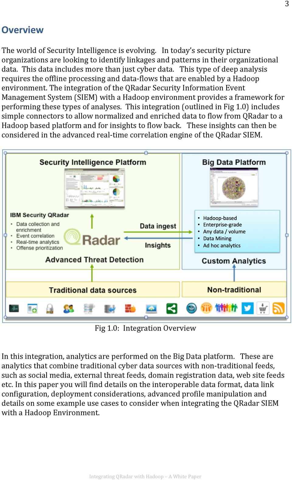 Integrating QRadar with Hadoop A White Paper - PDF