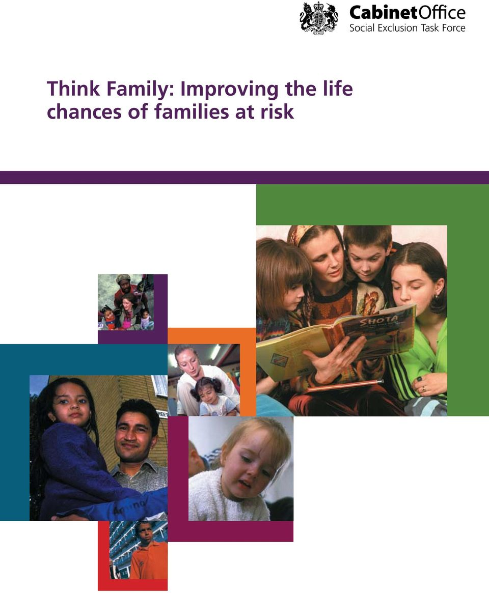 life chances of families at