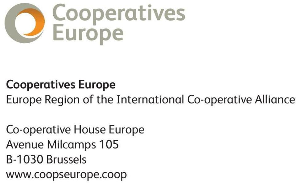 Co-operative House Europe Avenue