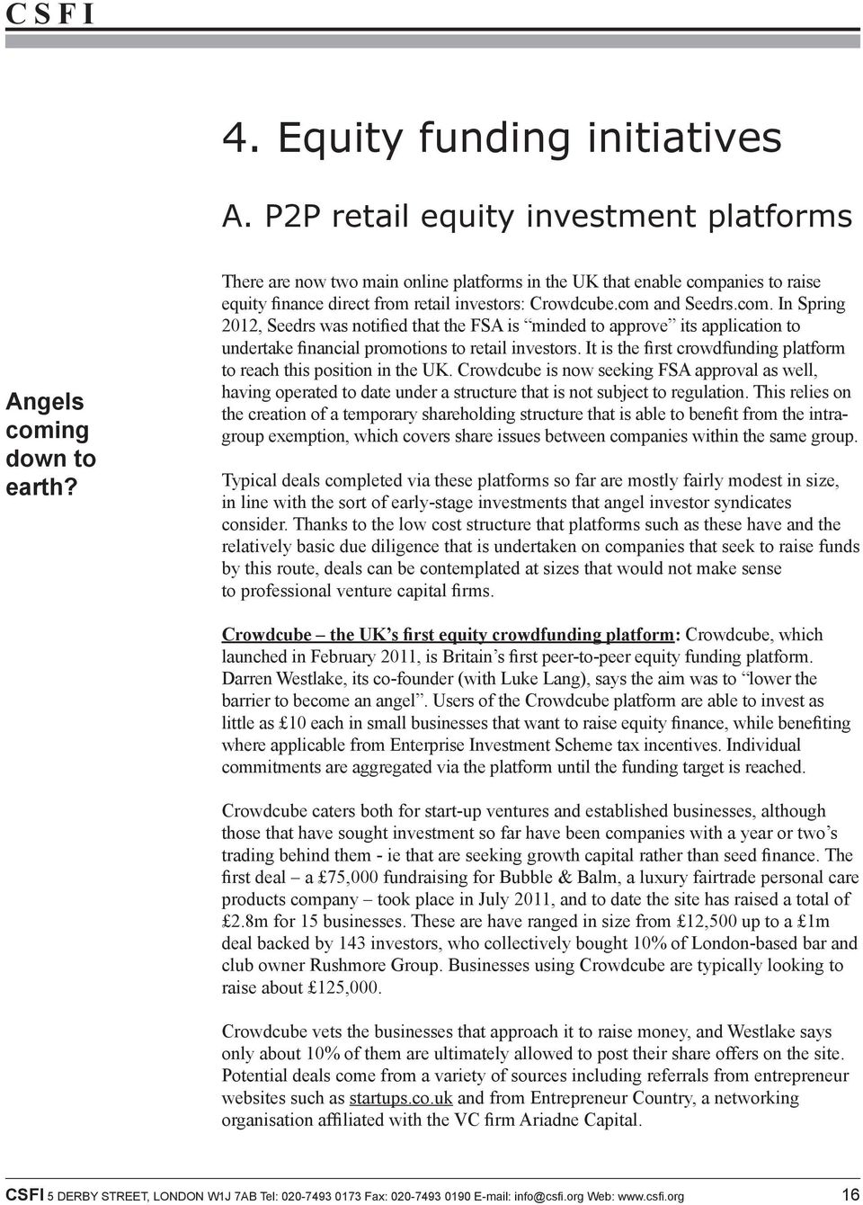 anies to raise equity finance direct from retail investors: Crowdcube.com