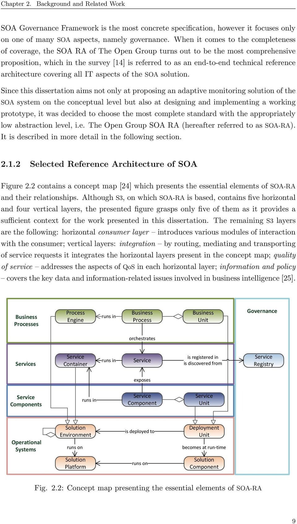 reference architecture covering all IT aspects of the SOA solution.