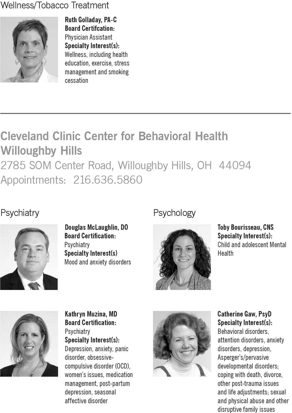 Family Health Center Willoughby Hills Pdf