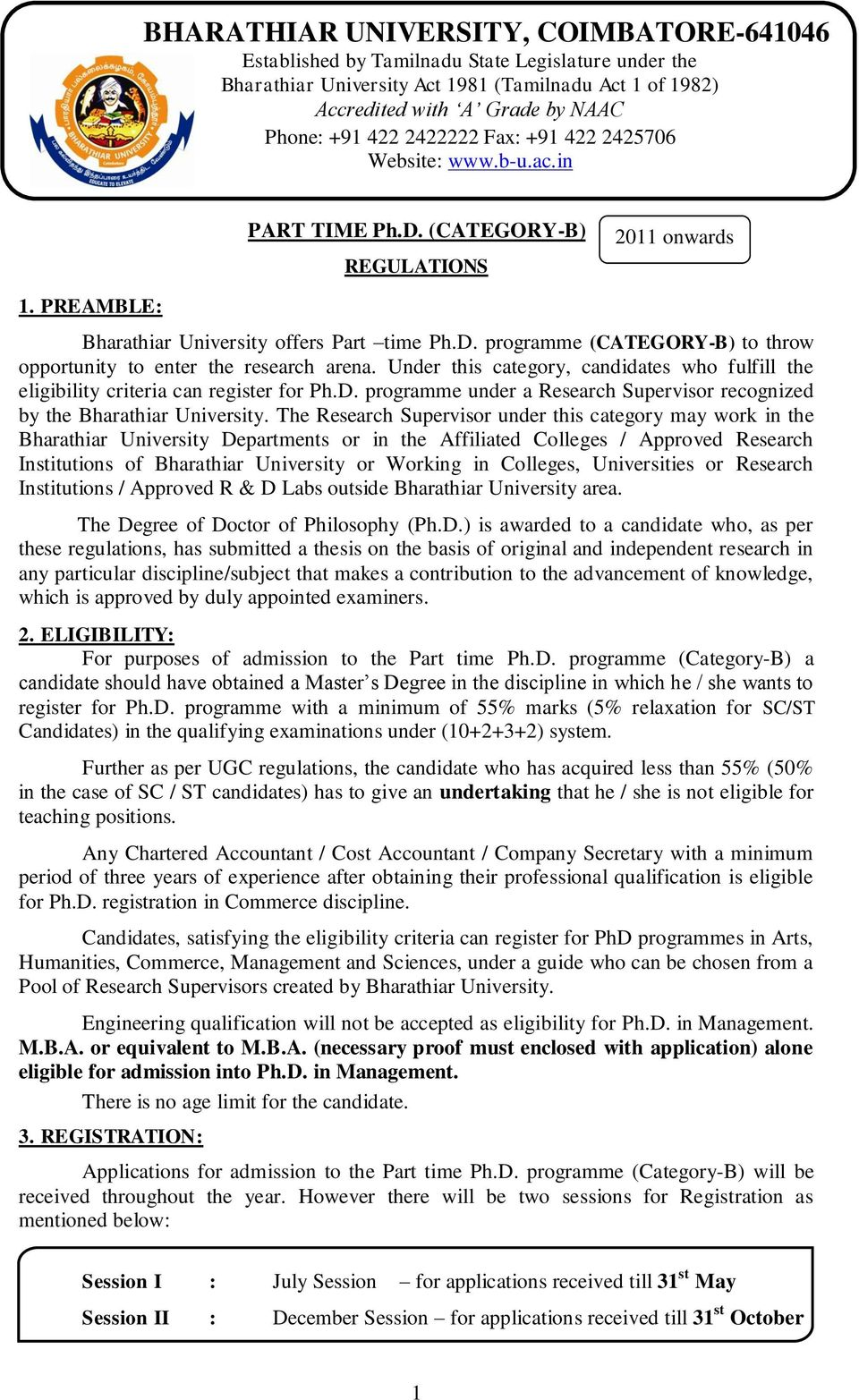 phd thesis submission form bharathiar university