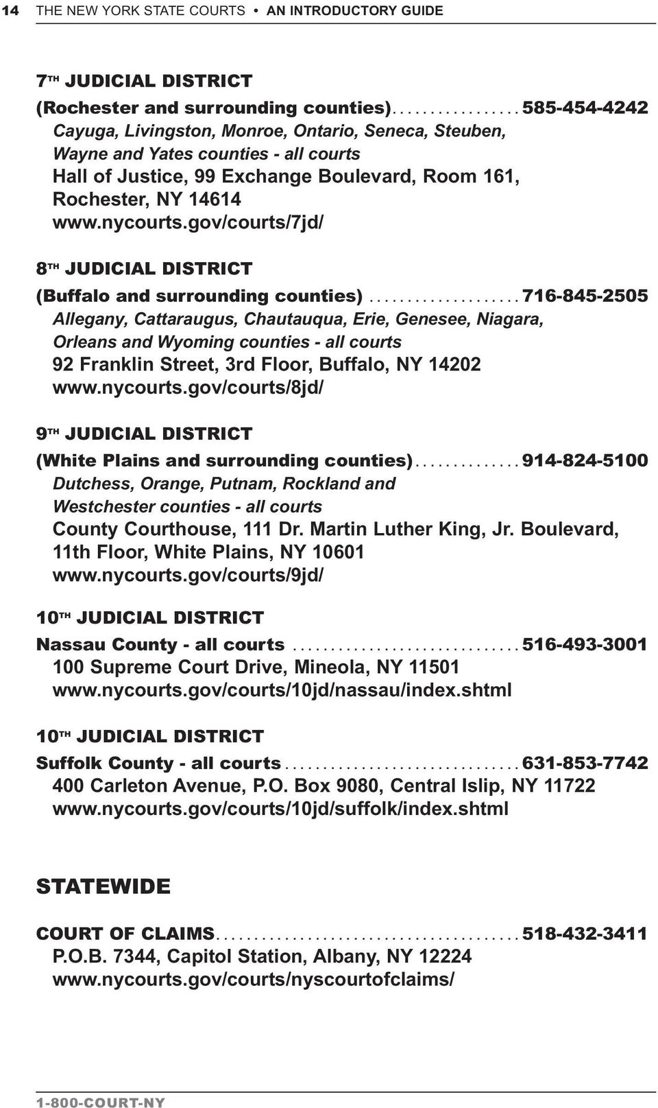 gov/courts/7jd/ 8 TH JUDICIAL DISTRICT (Buffalo and surrounding counties).
