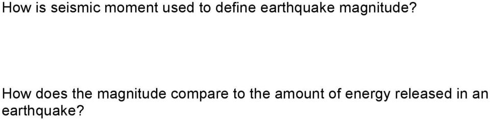 Geology 112 Earthquakes Activity 1 Worksheet Introduction To The. How Does The Magnitude Pare To. Worksheet. Seismogram Worksheet At Mspartners.co