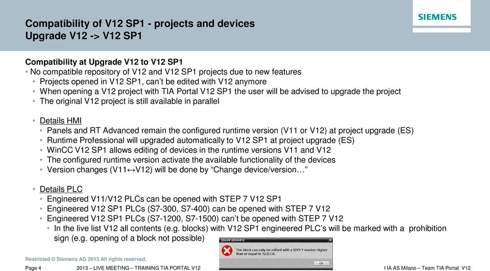 Tia portal V12 Download Sp1
