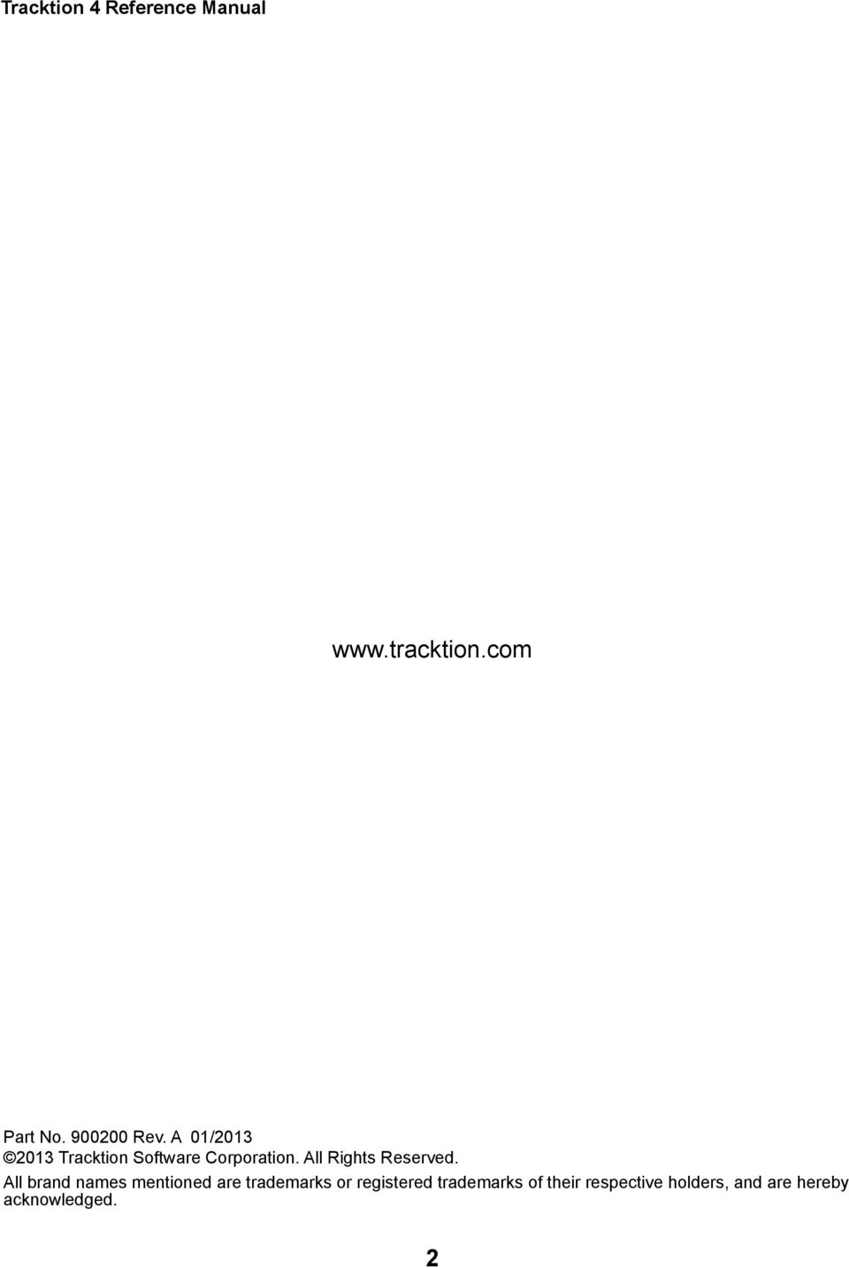 Tracktion 4 Reference Manual - PDF