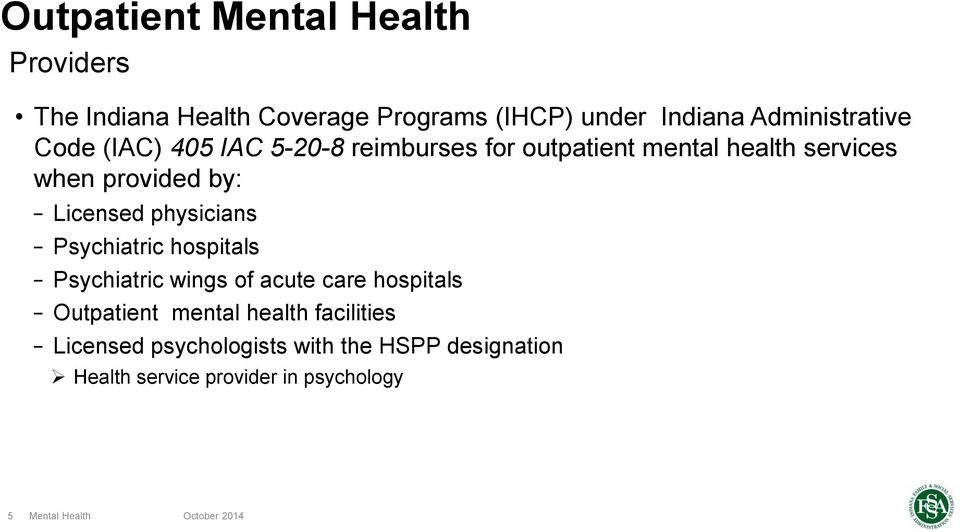 Mental Health Hp Provider Relations October Pdf