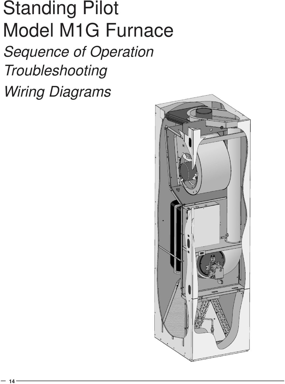 M1 Series M1g And M1m Furnaces Service Manual Pdf Pilot Assembly For Furnace Wiring Of Operation