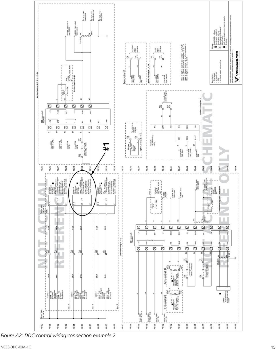 Ddc Controls Package Manual Pdf Master Flow H1 Humidistat Wiring Diagram R 331 4008 4009 Option Heating E F G H