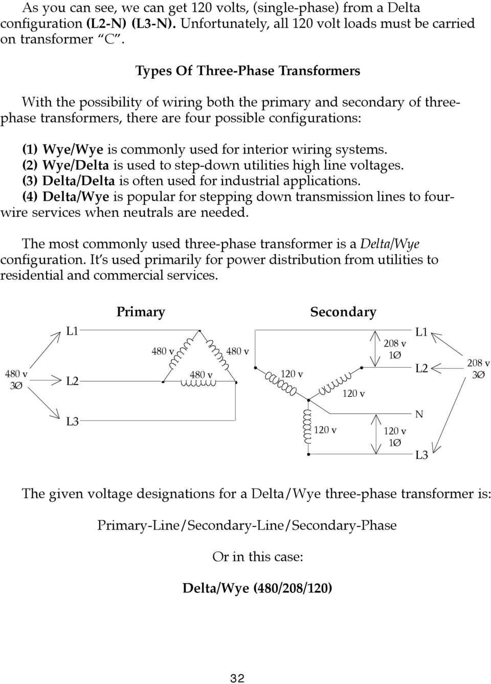 Phase Diagram On Wiring Diagram For A 3 Phase 208 Wye To 240v Delta