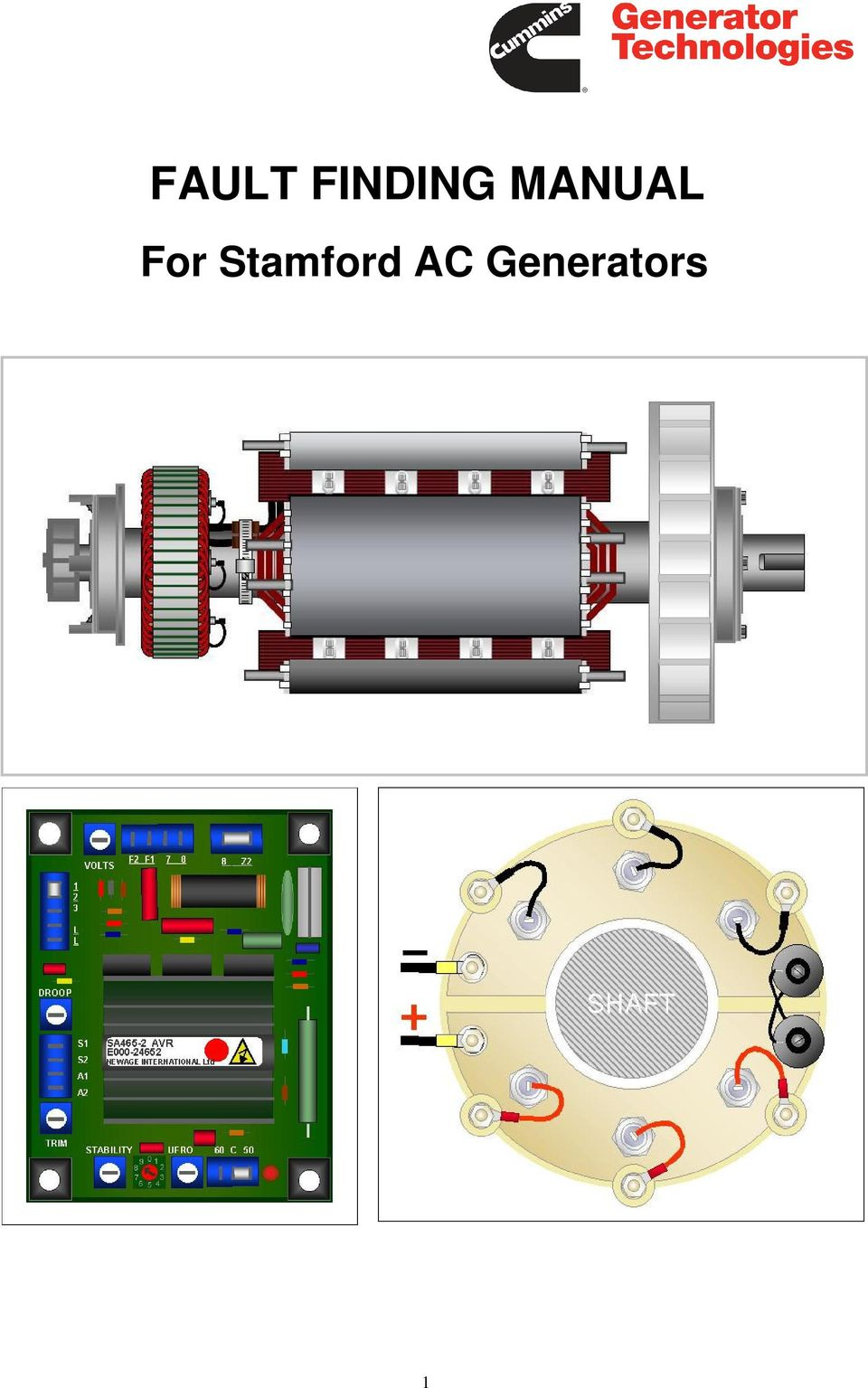 FAULT FINDING MANUAL. For Stamford AC Generators - PDF Free DownloadDocPlayer.net