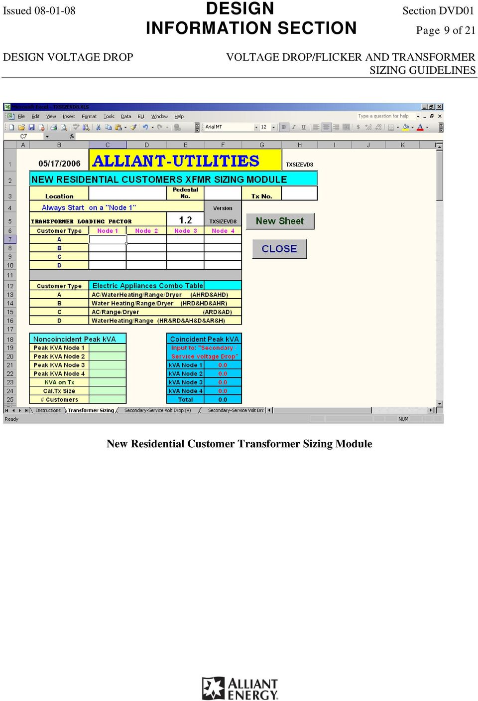 Section Dvd01 Voltage Drop Flicker And Transformer Sizing Software For Analysis Rectifier Circuit Page 9 Of 21 New
