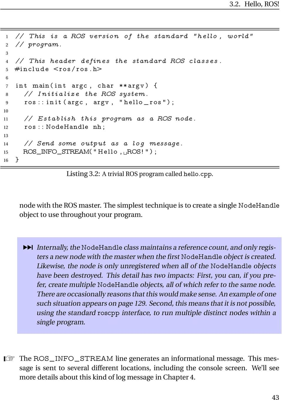 A Gentle Introduction to ROS - PDF
