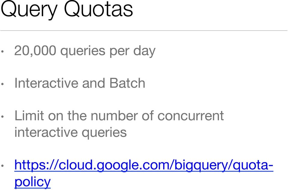 Querying Massive Data Sets in the Cloud with Google BigQuery