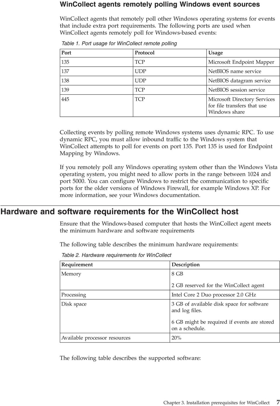 IBM Security QRadar Version WinCollect User Guide V PDF