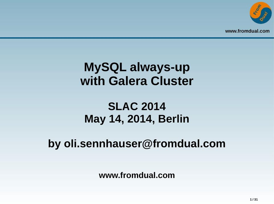 May 14, 2014, Berlin by