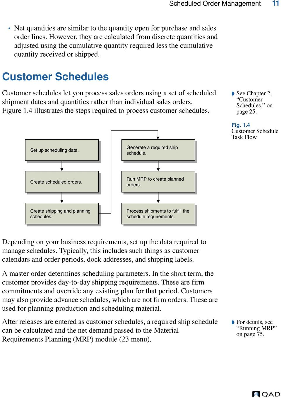 User Guide QAD Scheduled Order Management - PDF