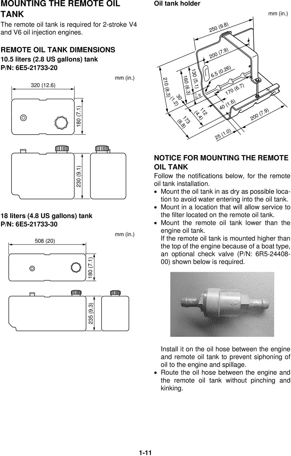 Rigging Guide Worldwide Edition Pdf Yamaha F350 Command Link Wiring Diagram 9 230 91 18 Liters 48 Us Gallons Tank P