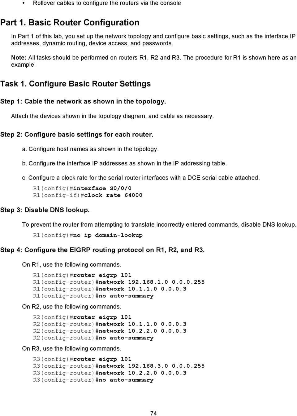 Chapter 4 Lab A Configuring Cbac And Zone Based Firewalls Pdf Rollover Cable Diagram Console For Note All Tasks Should Be Performed On Routers R1 R2 R3 The