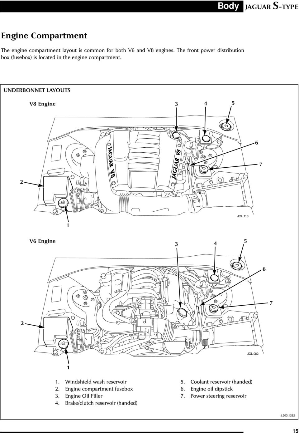 page_20 jaguar x type engine compartment diagram wiring diagram data