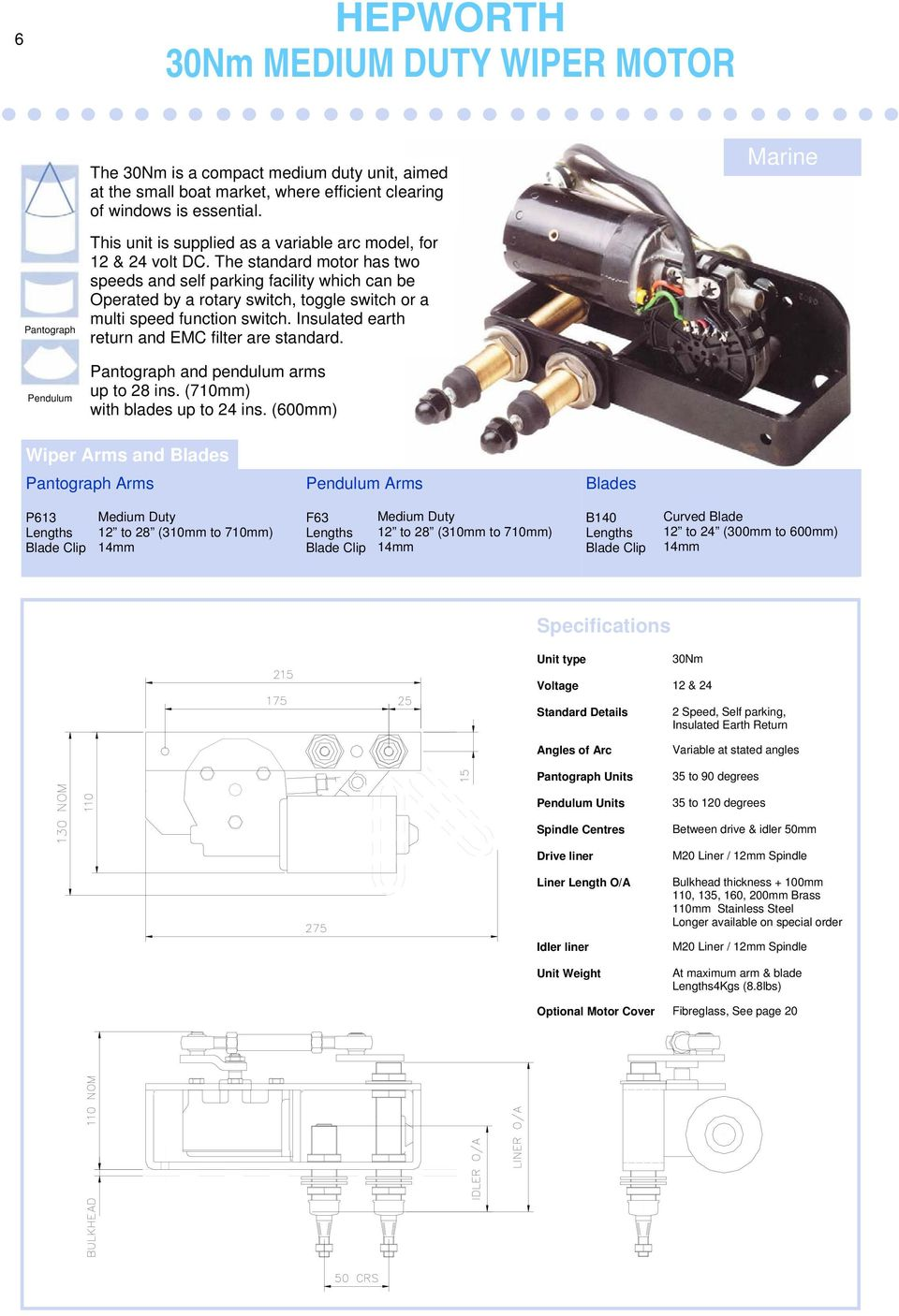 Windscreen Wiper Catalogue Pdf Wiring Of 12 Volt 2speed Steeringcolumnmounted Switch The Standard Motor Has Two Speeds And Self Parking Facility Which Can Be Operated By A