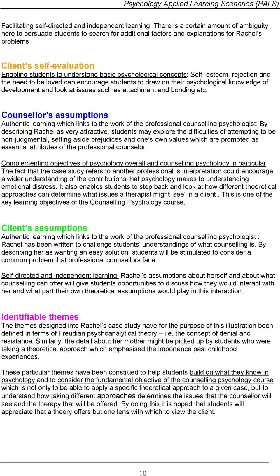 problems with case studies in psychology
