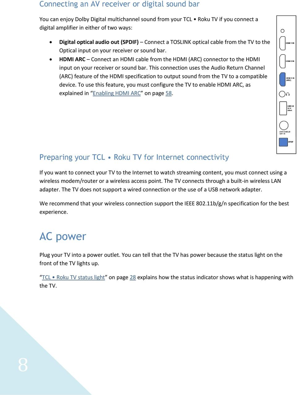 TCL Roku TV  User Guide  English - PDF