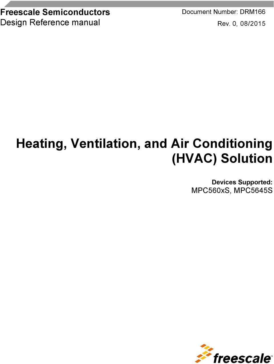 0, 08/05 Heating, Ventilation, and Air