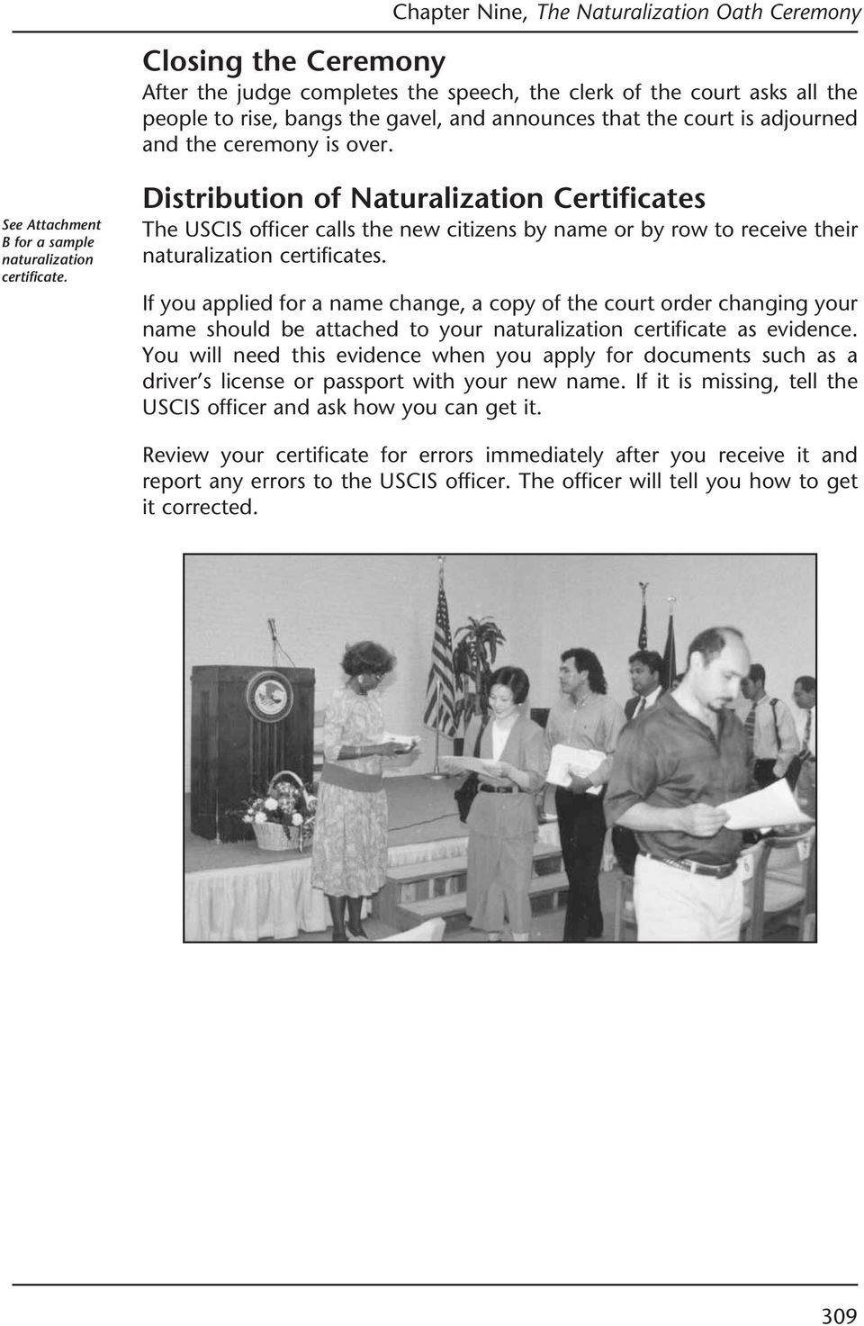 The Naturalization Oath Ceremony Pdf