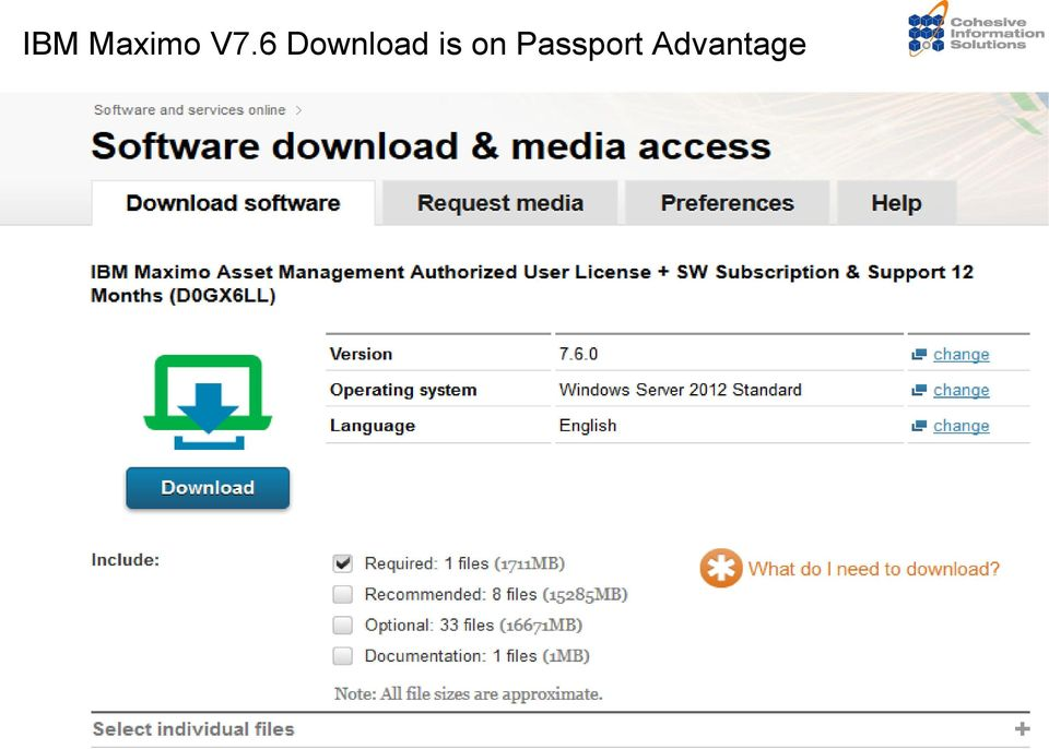 IBM Maximo Asset Management V7 6 Overview  January 8, PDF
