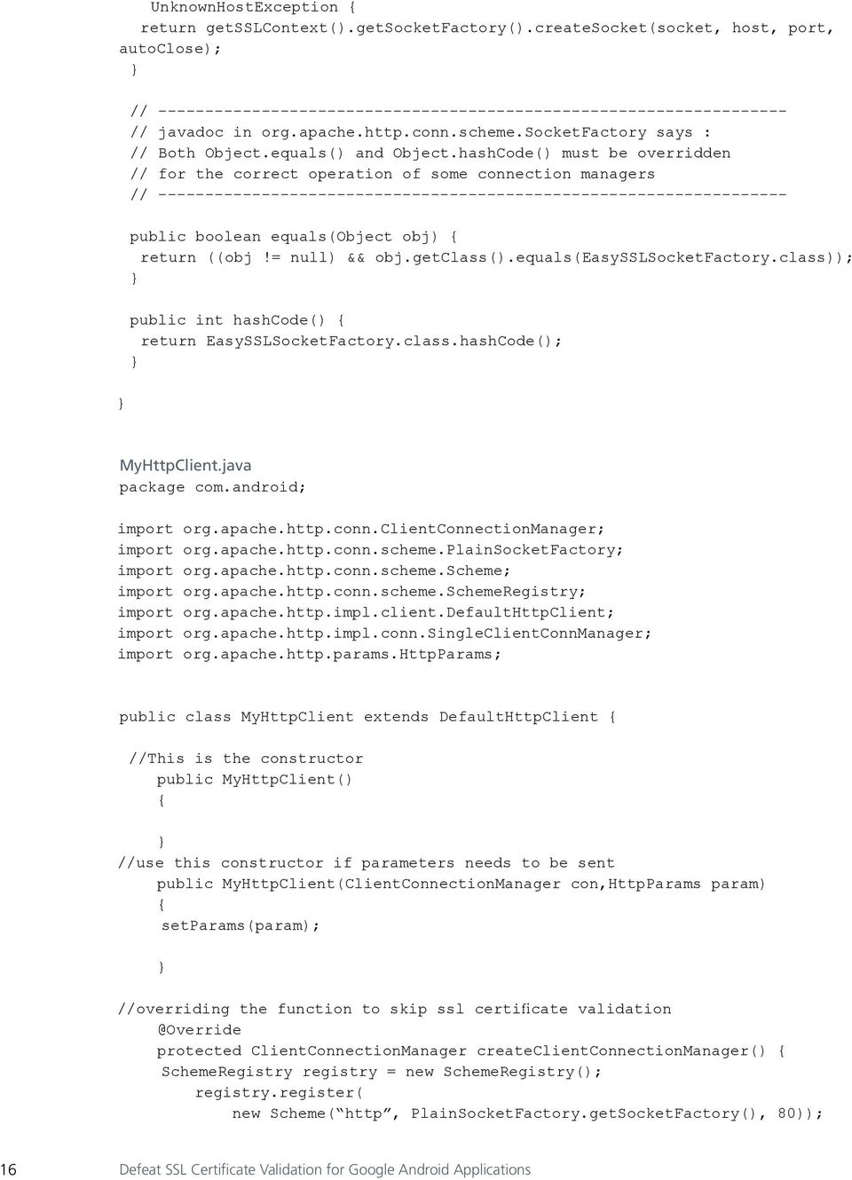 Defeat Ssl Certificate Validation For Google Android Applications Pdf