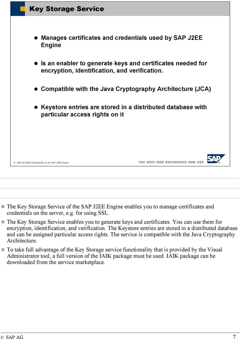 Enabling Ssl And Client Certificates On The Sap J2ee Engine Pdf